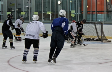 Working at it Hockey Camp 2012