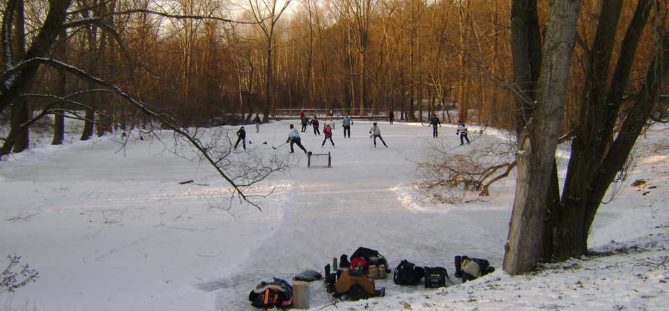 Mini Re-union and Annual Pond Hockey Tournament