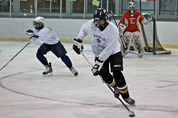 Hockey Camp 2012 Working Hard
