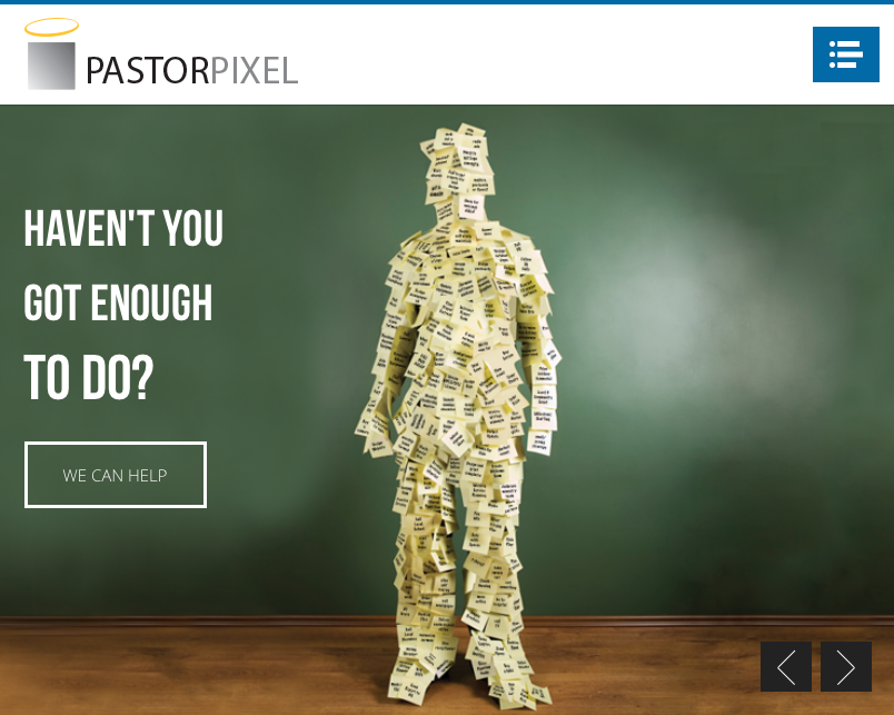 Who is Pastor Pixel?!