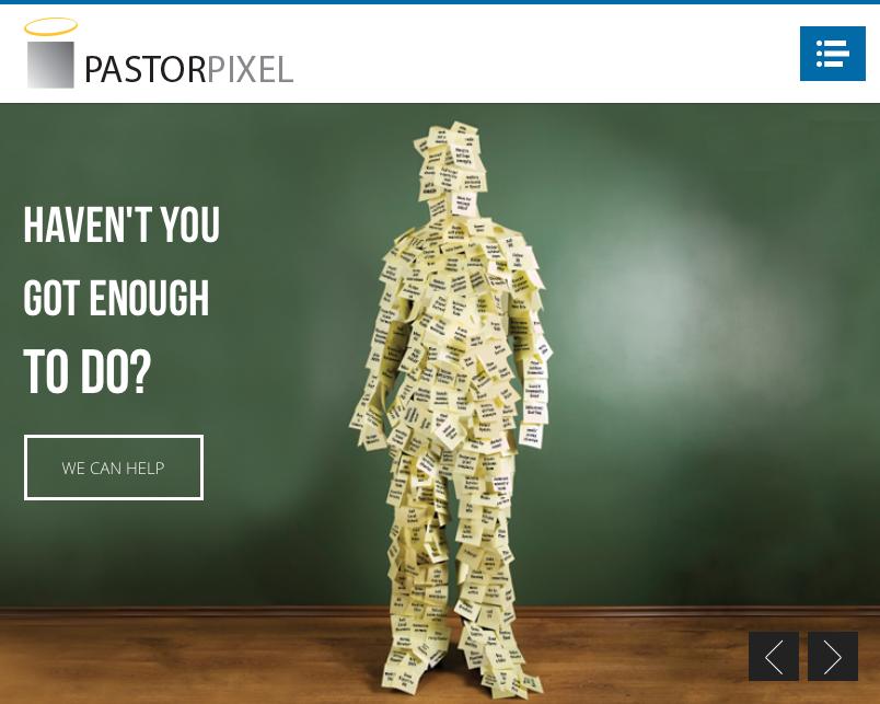 Who is Pastor Pixel?!